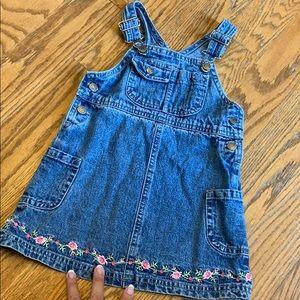 ❤️5/$20 Carter's overall dress